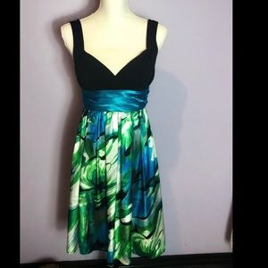 Dresses & Skirts - Contrasting colored special occasion dress NWOT